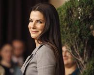 """<p>Sandra Bullock participa de almoço para os indicados ao Oscar. Seu filme """"Um Sonho Possível"""" pelo qual venceu o Oscar de melhor atriz, estreia nesta semana em circuito nacional. 15/02/2010. REUTERS/Mario Anzuoni</p>"""