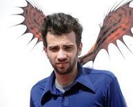 """<p>Foto de archivo: Jay Baruchel, miembro del elenco de """"How to Train Your Dragon"""", asiste a la función de estreno del filme en Los Angeles, mar 21 2010. REUTERS/Phil McCarten (UNITED STATES)</p>"""