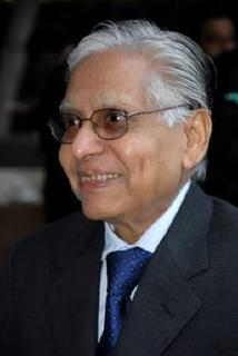 Handout photo of D. H. Pai Panandiker, President of RPG Foundation.