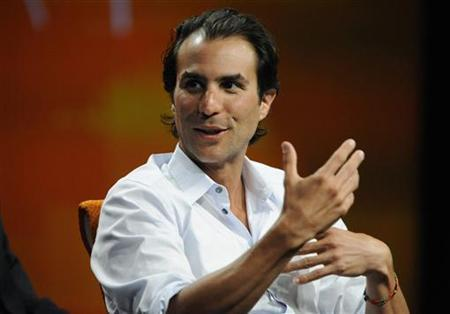 Ben Silverman, co-chairman of NBC Entertainment, speaks during the ''Reinventing Hollywood'' panel at the Fortune Tech Brainstorm 2009 in Pasadena, California July 22, 2009. REUTERS/Phil McCarten