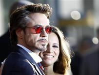 "<p>El actor Robert Downey Jr. y su esposa Susan arriban a la función de estreno de la película ""Iron Man 2"" en Hollywood, California, abr 26 2010. REUTERS/Mario Anzuoni (UNITED STATES)</p>"