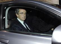 <p>Franco Bernabè, amministratore delegato di Telecom Italia, in foto d'archivio. REUTERS/Alerssandro Bianchi</p>