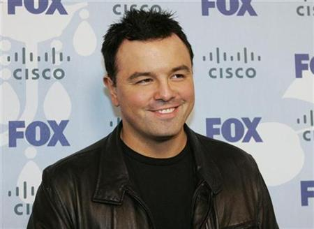 Seth MacFarlane, creator of the TV series ''Family Guy,'' poses at the FOX television network's Eco Casino party in Los Angeles September 8, 2008. REUTERS/Fred Prouser