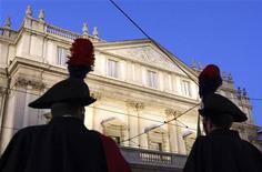 <p>Il tetro dell'Opera La Scala, Milano REUTERS/Stefano Rellandini</p>