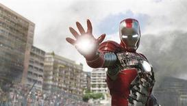 "<p>A scene from ""Iron Man 2"". REUTERS/Paramount Pictures</p>"