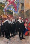 "<p>The oil on canvas ""Navarra"" by Joaquin Sorolla is shown in this undated handout photo. REUTERS/Courtesy of the Hispanic Society/Handout</p>"