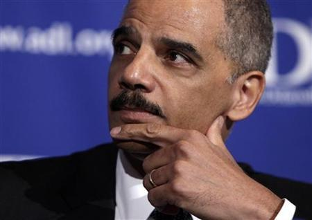 Attorney General Eric Holder attends the Anti-Defamation League (ADL) national leadership conference in Washington May 4, 2010. REUTERS/Yuri Gripas
