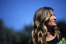 <p>Modelo brasileira Gisele Bundchen é a modelo mais bem paga do mundo, segundo a forbes.com REUTERS/Eric Thayer</p>