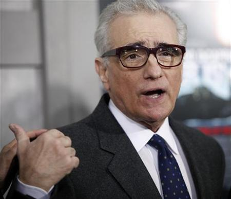 Director Martin Scorsese arrives at the premiere of the movie ''Shutter Island'' in New York February 17, 2010. REUTERS /Natalie Behring