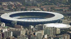 <p>Maracanã é um dos estádios que serão reformados para sediar a Copa do Mundo 2014. REUTERS/Bruno Domingos</p>
