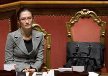 <p>Il ministro Gelmini in una foto d'archivio. REUTERS/Tony Gentile (ITALY)</p>