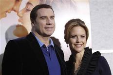 <p>John Travolta con la moglie Kelly Preston REUTERS/Mario Anzuoni</p>