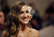 "<p>Actress Sarah Jessica Parker arrives at the Metropolitan Museum of Art Costume Institute Benefit celebrating the opening of ""American Woman: Fashioning a National Identity"" in New York May 3, 2010. REUTERS/Jessica Rinaldi</p>"