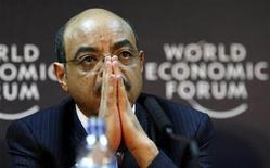 <p>Ethiopia's Prime Minister Meles Zenawi attends a news conference at the 20th World Economic Forum on Africa in Tanzania's commercial capital Dar es Salaam May 6, 2010. REUTERS/Thomas Mukoya</p>