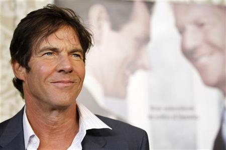 Cast member Dennis Quaid poses at the premiere of the movie ''The Special Relationship'' at the Director's Guild of America in Los Angeles in this May 19, 2010 file photo. REUTERS/Mario Anzuoni