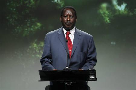 Kenya's Prime Minister Raila Odinga speaks at the Oslo Climate and Forest Conference May 27, 2010. Odinga has attacked the country's judiciary as an obstacle to reform after a court ruled it would be discriminatory to entrench Muslim courts in Kenya's constitution. REUTERS/Hakon Mosvold Larsen/Scanpix/Files