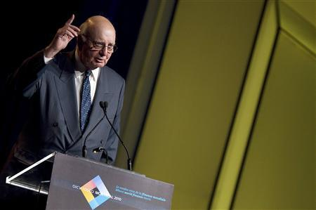 Paul Volcker, chairman of the President's Economic Recovery Advisory Board, speaks at The International Organization of Securities Commissions (IOSCO) conference in Montreal, Quebec, June 9, 2010. REUTERS/Christinne Muschi