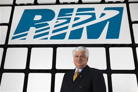 Co-Ceo of Research in Motion, makers of the Blackberry handheld devices, Mike Lazaridis, poses for a portrait at the at the RIM headquarters in Waterloo in this November 16, 2009 file photo. REUTERS/Mark Blinch