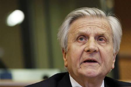 European Central Bank Chairman Jean-Claude Trichet appears before the Committee on Economic and Monetary Affairs of the European Parliament in Brussels June 21, 2010.  REUTERS/Thierry Roge/Files
