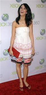 Actress Abigail Spencer attends the premiere of ''Project Natal for XBox 360'' in Los Angeles June 13, 2010. REUTERS/Phil McCarten