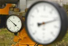 <p>Датчики давления, сфотографированные на газовой станции под Бухарестом, 6 января 2009 года. Болгария по-прежнему заинтересована в российском газопроводном проекте Южный поток и на этой неделе подпишет соответствующее соглашение, сказал во вторник премьер- министр Болгарии Бойко Борисов. REUTERS/Bogdan Cristel</p>