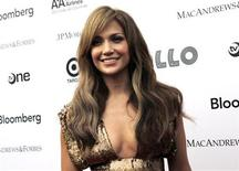 <p>Jennifer Lopez attends the 2010 Apollo Theater Spring Benefit Concert & Awards Ceremony at The Apollo Theater in New York, June 14, 2010. REUTERS/Natalie Behring</p>