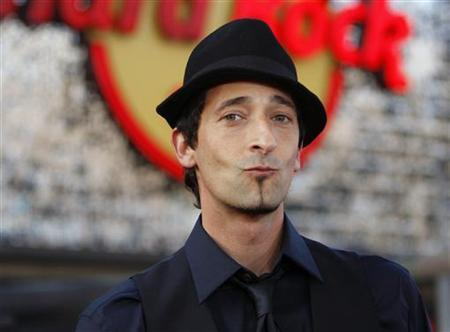 Actor Adrien Brody poses at the premiere of ''The A-Team'' at the Mann's Grauman Chinese theatre in Hollywood, California June 3, 2010. REUTERS/Mario Anzuoni