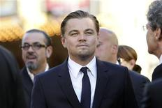 "<p>Leonardo DiCaprio attends the premiere of ""Inception"" at the Grauman's Chinese theatre in Hollywood, July 13, 2010. REUTERS/Mario Anzuoni</p>"