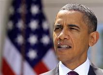 """<p>El presidente de Estados Unidos, Barack Obama, durante una conferencia acerca de la campaña del Senado por la reforma financiera en Washington, jul 26 2010. Obama aparecerá el jueves en """"The View"""", lo que será la primera aparición de un mandatario en ejercicio en un programa diurno de entrevistas, afirmó el lunes la cadena ABC. REUTERS/Jim Young</p>"""