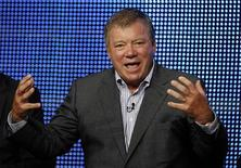 <p>William Shatner talks about his show '$#*! My Dad Says' during the CBS, Showtime and the CW Television Critics Association press tour in Beverly Hills, California, July 28, 2010. REUTERS/Lucy Nicholson</p>
