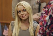 <p>Lindsay Lohan no tribunal de Beverly Hills ao receber sentença dos 90 dias na cadeia. Ela saiu depois de 13 dias para ser internada em uma clínica de reabilitação. 20/07/2010 REUTERS/Al Seib/Arquivo</p>