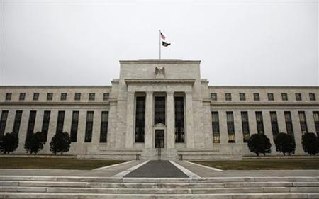 The Federal Reserve Building is pictured in Washington, January 26, 2010. REUTERS/Jason Reed