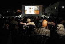 <p>Cinema de Jenin, na Cisjordânia, reabriu após 23 anos. REUTERS/Ammar Awad</p>