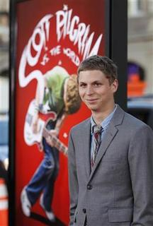 Cast member Michael Cera poses at the premiere of the movie ''Scott Pilgrim vs. the World'' at the Grauman's Chinese theatre in Hollywood, California, July 27, 2010. REUTERS/Danny Moloshok