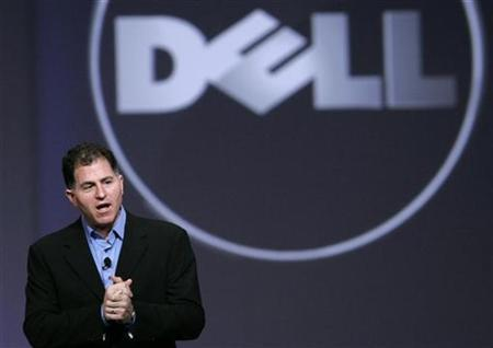 Dell Inc. Chief Executive Officer Michael Dell speaks during his keynote address at Oracle Open World in San Francisco, October 13, 2009. REUTERS/Robert Galbraith