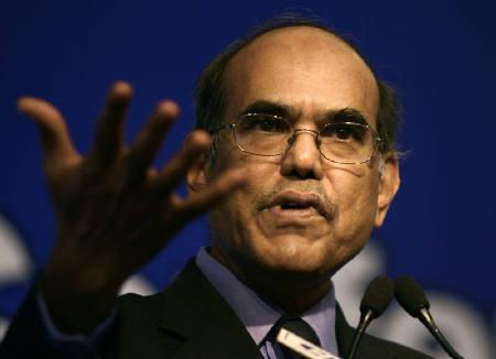 Reserve Bank of India (RBI) Governor Duvvuri Subbarao speaks during a business conference organised by the Confederation of Indian Industry (CII) in New Delhi March 26, 2009. REUTERS/Vijay Mathur/Files