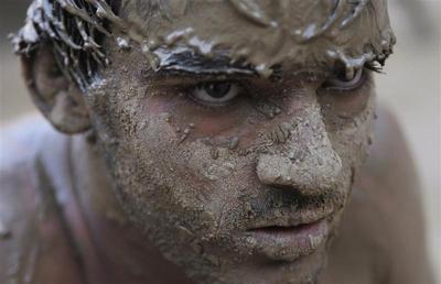 India's mud wrestlers