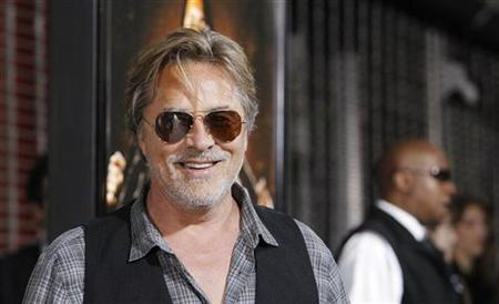 Cast member Don Johnson poses at the premiere of ''Machete'' at the Orpheum theatre in Los Angeles August 25, 2010. The movie opens in the U.S. on September 3. REUTERS/Mario Anzuoni