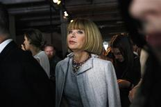 <p>American Vogue magazine editor Anna Wintour leaves after attending the Rag & Bone women's Spring 2011 collection show during the New York Fashion Week, September 10, 2010. REUTERS/Kena Betancur</p>