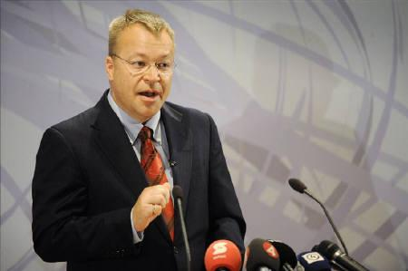 Nokia's new Chief Executive Stephen Elop speaks during a news conference in Espoo September 10, 2010. REUTERS/Lehtikuva/Antti Aimo-Koivisto