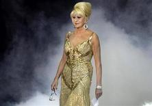 <p>Businesswoman Ivana Trump enters the stage during the 17th Life Ball in Vienna May 16, 2009. REUTERS/Leonhard Foeger</p>