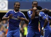 <p>O Chelsea segue com 100 por cento de aproveitamento no Campeonato Inglês após golear o Blackpool por 4 x 0 neste domingo. REUTERS/Stefan Wermuth</p>