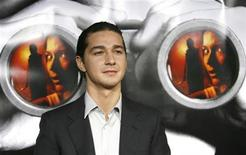 """<p>Cast member Shia LaBeouf poses at the premiere of """"Disturbia"""" at the Mann's Chinese theater in Hollywood April 4, 2007. REUTERS/Mario Anzuoni</p>"""
