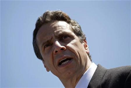 New York Attorney General Andrew Cuomo attends a news conference in New York, June 30, 2010. REUTERS/Mike Segar