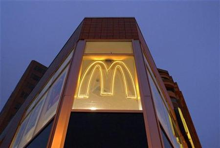 A McDonald's restaurant is seen in Washington D.C. in this January 22, 2010 file photo. REUTERS/Larry Downing