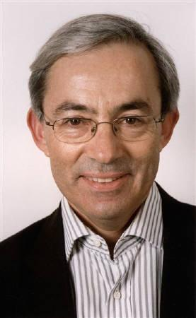 Nobel prize winner Christopher Pissarides is seen in this undated handout photograph received in London on October 11, 2010. REUTERS/Nigel Stead/LSE/Handout