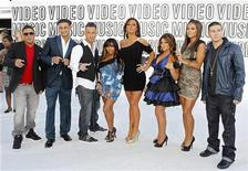 "<p>The cast of ""Jersey Shore"" pose upon their arrival at the 2010 MTV Video Music Awards in Los Angeles, California, September 12, 2010. REUTERS/Lucy Nicholson</p>"