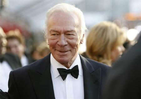 Actor Christopher Plummer in Los Angeles January 23, 2010. In a broadcast of ''The Oprah Winfrey Show'' on Thursday, Plummer, who has been reluctant over the years to even talk about the movie, joined Julie Andrews and the seven actors who played the children in the beloved 1965 Oscar-winning film. REUTERS/Danny Moloshok/Files