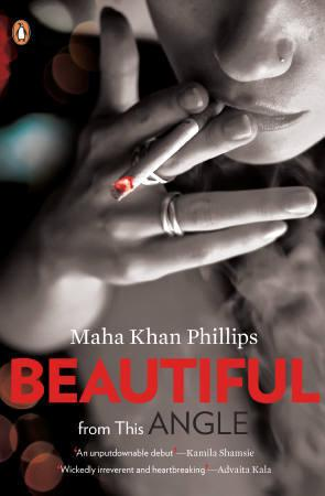 The book cover of ''Beautiful from this Angle'' by Maha Khan Phillips is seen in this handout image. REUTERS/Handout
