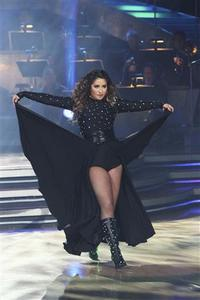 Bristol Palin performs during the semi-finals of Dancing With The Stars on the ABC Television Network, November 15, 2010. REUTERS/ABC/Adam Larkey/Handout